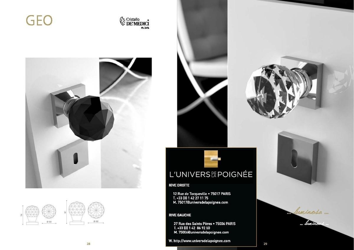 Arius Design Cabinet Knobspoignees Deco En # Meuble Transparent