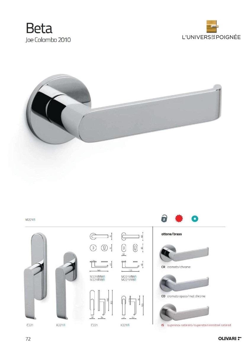 Poign es et accessoires de portes ultra design for L univers de la poignee