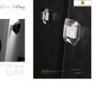 Bouton de Tirage Diamond Noir ou transparent Arius design