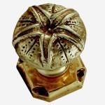bouton tirage bronze