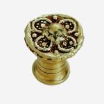 bouton sculpture bronze ligne andalouse