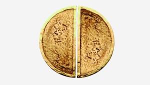 Paire de tirants de porte 1/2 lune PortoBello L22M