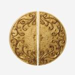 Tirant Bronze demi-lune Trianon U16M 140mm x 70mm U16L
