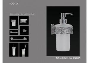 Collection FOGLIA accessoires SDB