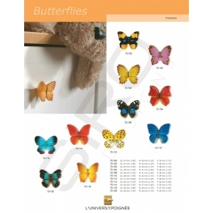 """Boutons de meubles """"Butterflies"""""""
