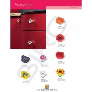 """Boutons de portes gamme """"Flowers"""""""