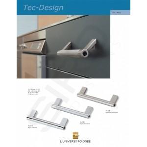"""Le design à l'honneur pour ces tirants de meubles de notre ligne """"Tech Design""""."""
