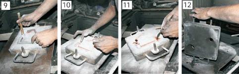 Processus de fabrication des poignées