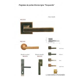 Poignée Tocqueville en Bronze