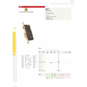 serrure clef I 2210-85