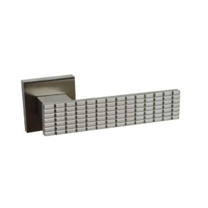 Poignée Cabochon Nickel mat